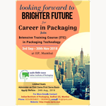 (ITC) INTENSIVE TRAINING COURSE IN PACKAGING TECHNOLOGY
