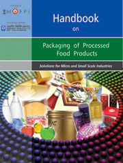 HANDBOOK ON PACKAGING OF PROCESSED FOOD PRODUCTS